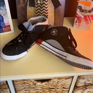 Converse shoes, worn once, big boys size 6